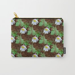 Diagonal rows of nodding flowers Carry-All Pouch