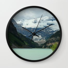 Peaceful Lake Louise Wall Clock