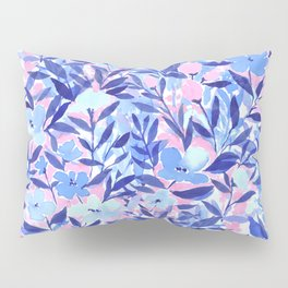 Nonchalant Blue Pillow Sham