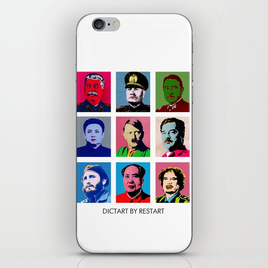 Dictart iPhone & iPod Skin