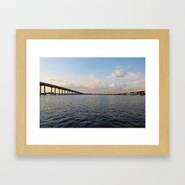 The Edison Bridge Framed Art Print