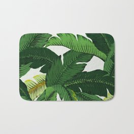 banana leaf palms Bath Mat