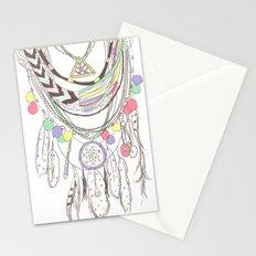 Tribal Necklace Stationery Cards
