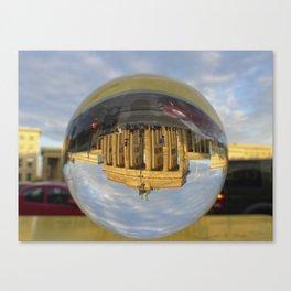 BERLIN Brandenburg Gate sunset, Germany / Glass Ball Photography Canvas Print