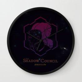 The Shadow Council Wall Clock