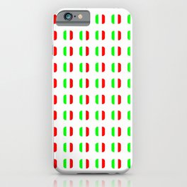 Flag of Italy - with soft square iPhone Case