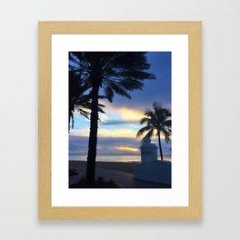 Las Olas Framed Art Print