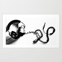 hear Art Print