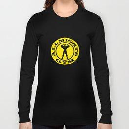 Allmight Gym Boku No Hero academia my hero academia Long Sleeve T-shirt