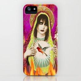 Saint Souxsie iPhone Case