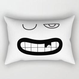 Mouthy Rectangular Pillow