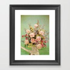 Floral Fashions II Framed Art Print