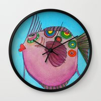 larry Wall Clocks featuring LARRY by Caribbean Critters Co.
