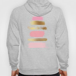 Brush Strokes (Rose/Gold) Hoody