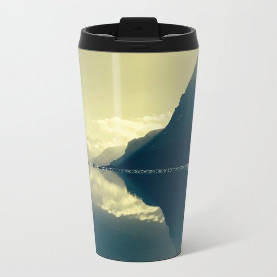 Morning Bliss Metal Travel Mug