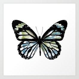 Watercolor Wings Art Print