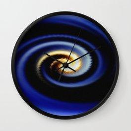 Eye of the Cyclone Wall Clock