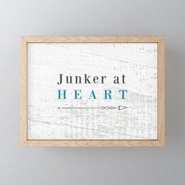 Junker at Heart Framed Mini Art Print