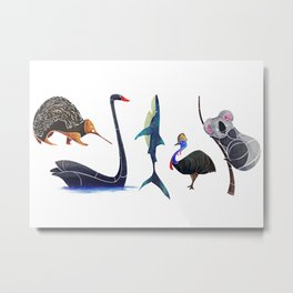 Australian animals Metal Print