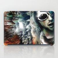 kurt cobain iPad Cases featuring Kurt by Tordu Design JS Lajeunesse