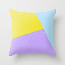 multi-colors2 Throw Pillow