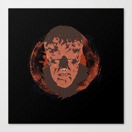 Horror Monster | Wolfman Canvas Print