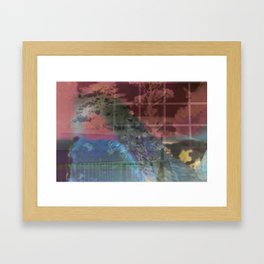 Into Framed Art Print
