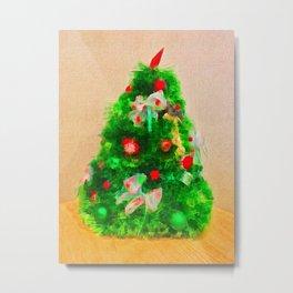 Little Christmas Tree Metal Print