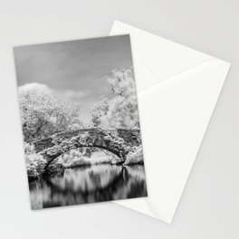 Gapstow Bridge, Central Park in Infrared Stationery Cards