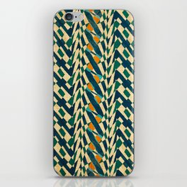Braiding Colors iPhone Skin
