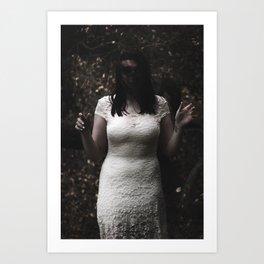 Zoe Ghost Art Print
