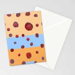 Red meteorites Stationery Cards
