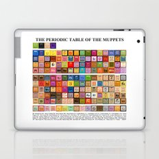 The Periodic Table of the Muppets Laptop & iPad Skin
