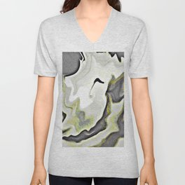 BURN THAT CANDLE/Grey Unisex V-Neck