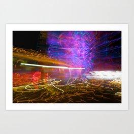 Night Light 125 Art Print
