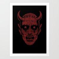 satan Art Prints featuring Satan by Gurven