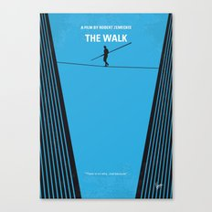 No796 My The Walk minimal movie poster Canvas Print
