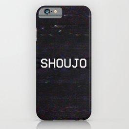 SHOUJO iPhone Case