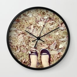 TRACK AND TRAIL Wall Clock