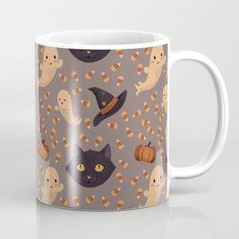 Spooky Season Pattern Coffee Mug