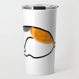 Comfy Calico Cat Travel Mug