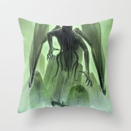 The Call of Cthulhu Throw Pillow
