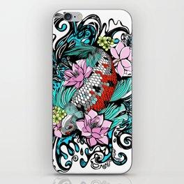 Colored Carpa Koi iPhone Skin
