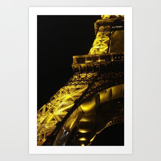 Paris Lights Art Print