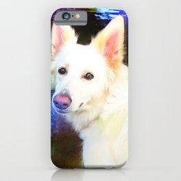 The White Shepherd iPhone Case