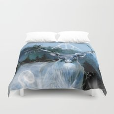 My Patronus is a Stag Duvet Cover