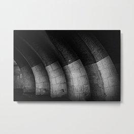 Berlin-Under The Bridge Metal Print