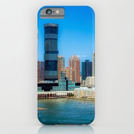 USA Megapolis Jersey city, New Jersey Bay Skyscrapers Cities Building megalopolis Houses iPhone Case
