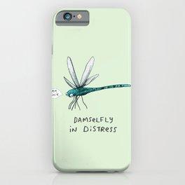 Damselfly in Distress iPhone Case