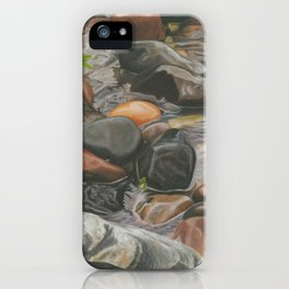 Rocks in the Lake iPhone Case